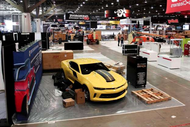 Slide 1 of 62: 001-SEMA-2019-First-Look-Indoors.jpg
