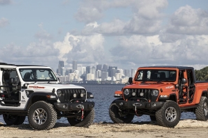 Jeep Built Miami-Themed Special Editions of the Wrangler and Gladiator