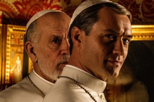John Malkovich heralds the beginning of a new papal era in teaser for HBO's The New Pope