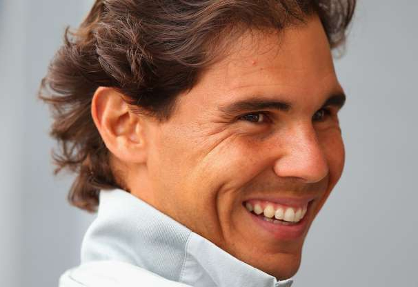 Slide 26 of 38: Rafael Nadal of Spain talks to media during day three of the Internazionali BNL d'Italia tennis 2014 on May 13, 2014 in Rome, Italy.