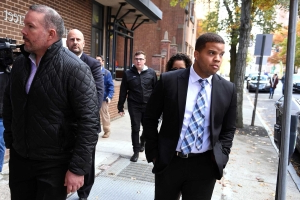 Hamden officer charged in New Haven shooting pleads not guilty
