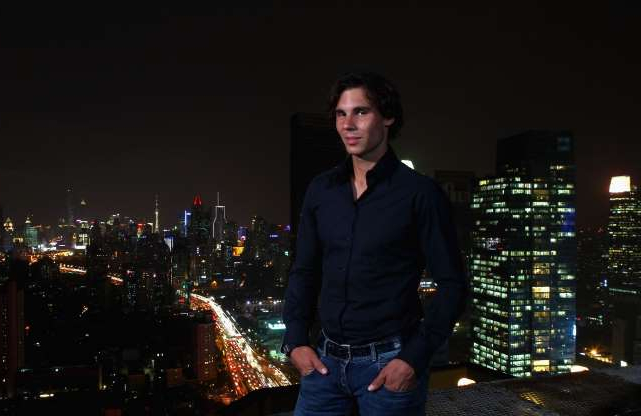 Slide 19 of 38: Rafael Nadal attends Bacardi Limited 'Champions Drink Responsibly' event at the Hilton Hotel on October 11, 2011 in Shanghai, China.