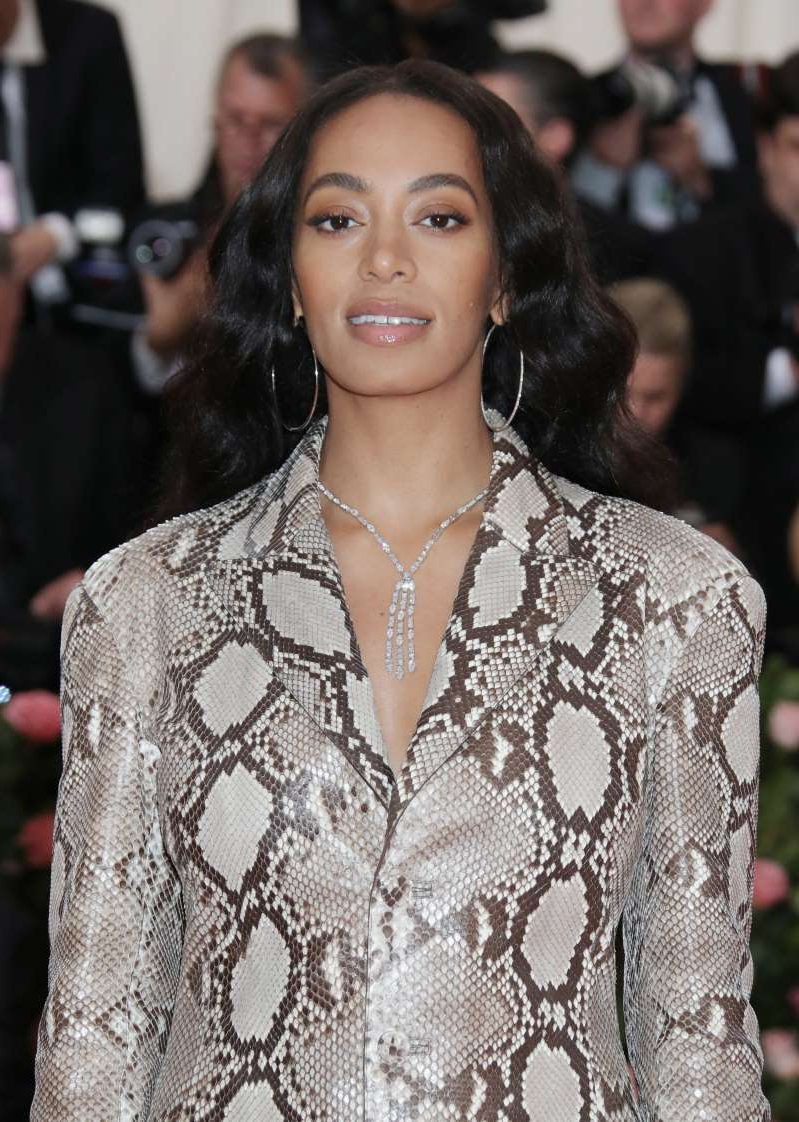 Solange Knowles wearing a dress: Solange Knowles attends the Met Gala at The Metropolitan Museum of Art in New York City on May 6, 2019.