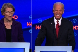 Joe Biden slams Elizabeth Warren's 'wrong presidential primary' comment as elitist