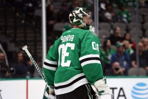Ben Bishop is back on track and so are the Stars