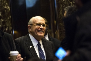 Giuliani Says Ukraine Efforts 'Solely' for Trump's Legal Defense