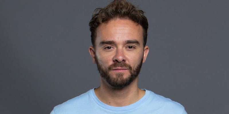 Jack P. Shepherd wearing a white shirt and looking at the camera: Coronation Street airs another Thursday episode, as viewers discover whether David Platt and Shona Ramsey will make it down the aisle.