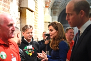 William and Kate meet Grenfell Tower fire survivors