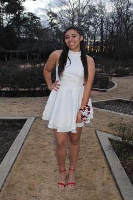 a person standing posing for the camera: Aniah Blanchard went missing from Opelika