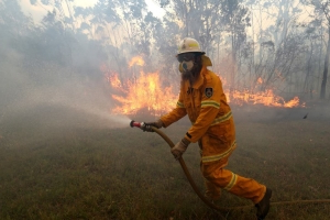 At least two homes destroyed by bushfire in northern NSW