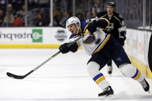 Blues' Alex Steen out 4 weeks with high ankle sprain