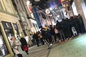 Chaos in Cork as 'up to 100 youths' gather for pre-planned raid on city centre store