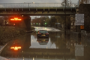 Dozens forced to sleep in Sheffield shopping centre as torrential rain causes major flooding