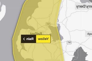 Northern Ireland weather warning issued for heavy rain and flooding