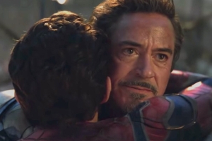 Peter Parker and Tony Stark Didn't Always Have Such a Touching Reunion in Avengers: Endgame