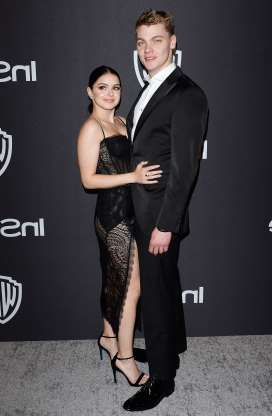 Slide 35 of 52: Us Weekly reported on Oct. 11 that Ariel Winter and Levi Meaden called it quits after nearly three years of coupledom. Breakup rumors kicked off after the