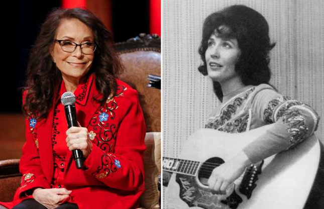 Slide 51 of 121: CIRCA 1965: Country singer Loretta Lynn poses for a publicity still circa 1965. (Photo by Michael Ochs Archives/Getty Images); Country music legend Loretta Lynn appears on stage at the Grand Ole Opry House, Monday, Jan. 14, 2019, in Nashville, Tenn., where she announced she will celebrate her 87th birthday with an all-star tribute concert featuring Garth Brooks, Jack White, George Strait and others on April 1. (AP Photo/Mark Humphrey)