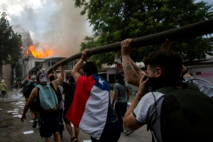 Anger at out-of-touch elite stoking Chile protests