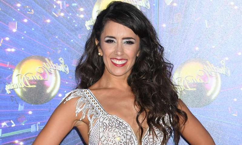 Janette Manrara posing for a picture: Hello! Magazine