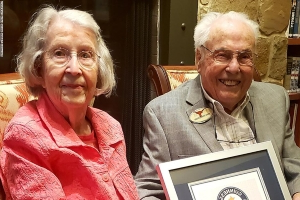 Oldest living couple in the world is a husband and wife in Texas