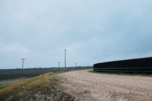 Under Construction in Texas: The First New Section of Border Wall