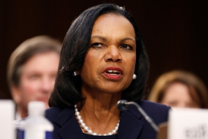 Former U.S. top diplomat Rice concerned by shadow diplomacy on Ukraine