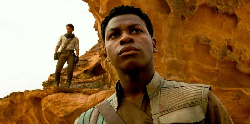 John Boyega wearing a suit and tie: Disney boss Bob Iger confirms the future of the Star Wars franchise after The Rise of Skywalker is released.