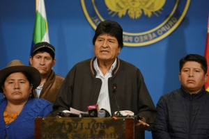 Mexico grants asylum to Bolivia's Evo Morales, demands safe conduct