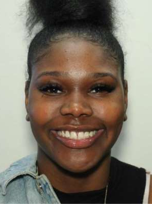 This undated photo provided by the Atlanta Police Department shows Alexis Crawford, a missing Clark Atlanta University student. Atlanta Police Chief Erika Shields said at a news conference Friday, Nov. 8, 2019, that the body of the 21-year-old was found Friday at a park in DeKalb County. (Atlanta Police Department/Atlanta Journal-Constitution via AP)