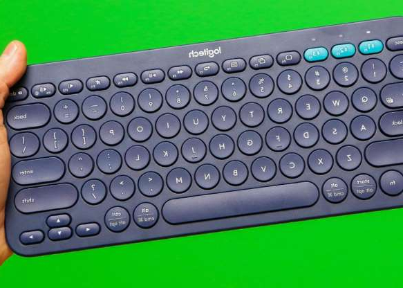 a close up of a keyboard: Logitech's K380 has been around for a while, but it's still a great keyboard for the money -- perfect for computers, tablets, phones and more. You can find it for less than $30 online.