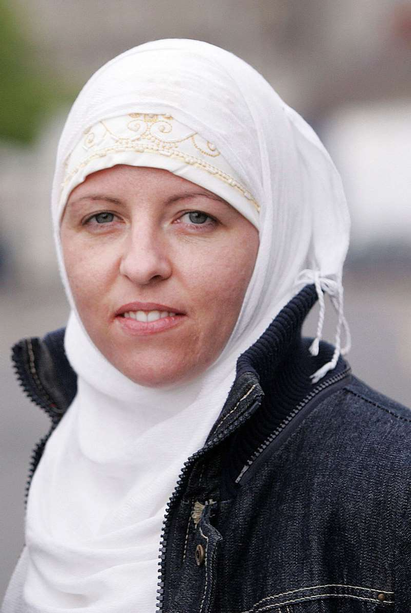 a person wearing a hat: Deportation: Lisa Smith from Co Louth has been held in a safe house near the Syrian border with Turkey in recent weeks. Photo: David Conachy