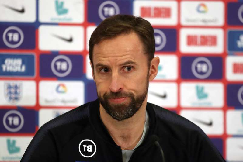 England manager Gareth Southgate during the press conference  Action Images via Reuters/Carl Recine