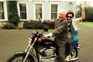 Gay Byrne's daughter Crona hails 'incredible' public support after dad's death