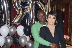 Kris Jenner Celebrates Corey Gamble's 39th Birthday with Kim, Kourtney and Khloé Kardashian
