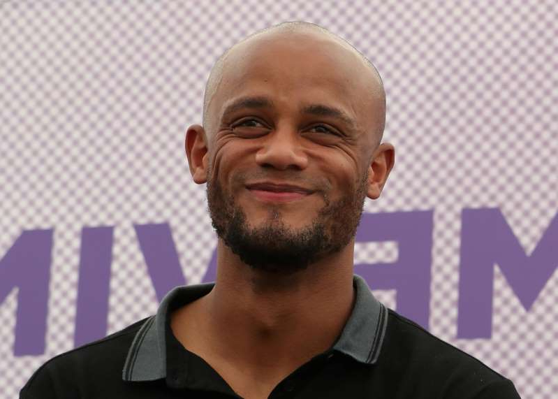 Soccer Football - Anderlecht - Vincent Kompany Press Conference - Neerpede Training Center, Brussels, Belgium - June 25, 2019  Anderlecht Player-Coach Vincent Kompany during the press conference  REUTERS/Yves Herman