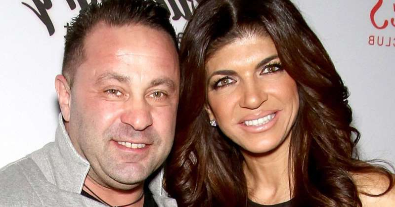 Teresa Giudice, Joe Giudice posing for the camera: Joe Giudice Says It Was 'Painful' Watching Real Housewives of New Jersey from Prison