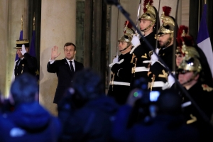 Trump, Macron to meet after French president criticized NATO