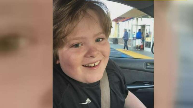 a young boy who is smiling at the camera: Max Benson died two days after reportedly being restrained on November 28, 2018 at Guiding Hands School, Inc. in El Dorado Hills, California