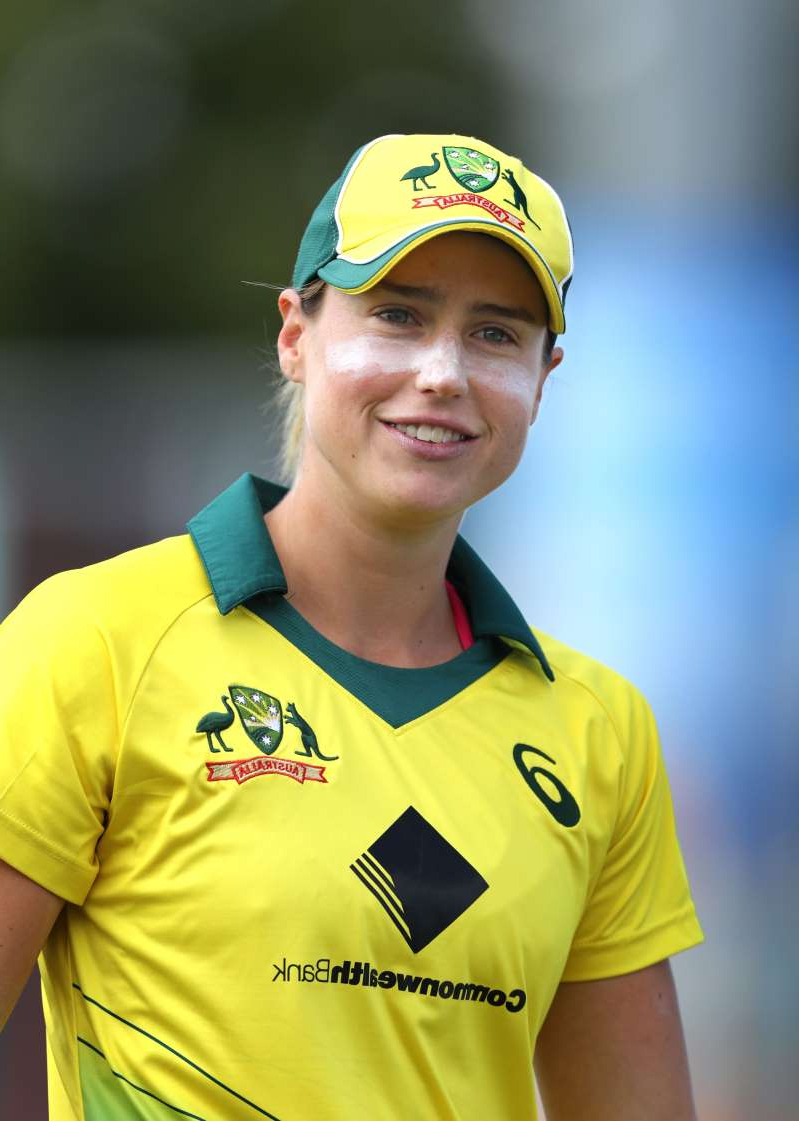 Australia's Ellyse Perry during the Third One Day International of the Women's Ashes Series at The Spitfire Ground, Canterbury. (Photo by Gareth Fuller/PA Images via Getty Images)