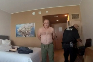 Denver to pay $300,000 to pilot arrested for being naked in hotel