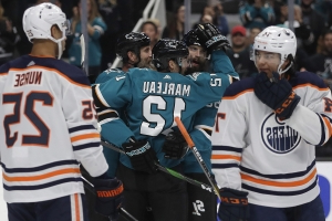 Edmonton Oilers sink against San Jose Sharks