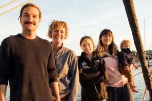 Greta Thunberg catches lift to UN COP25 climate summit in Madrid with Australian sailing family