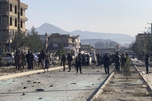 Seven killed after car bomb blast near Afghan interior ministry in Kabul