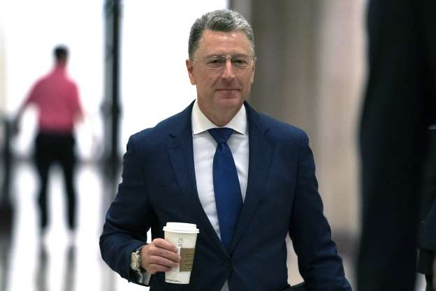 Slide 74 of 85: Kurt Volker, a former special envoy to Ukraine, arrives for a closed-door interview with House investigators, as House Democrats proceed with the impeachment inquiry of President Donald Trump, at the Capitol in Washington, Thursday, Oct. 3, 2019. (AP Photo/J. Scott Applewhite)