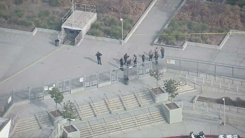 Suspect Shot By Deputies Near East LA School