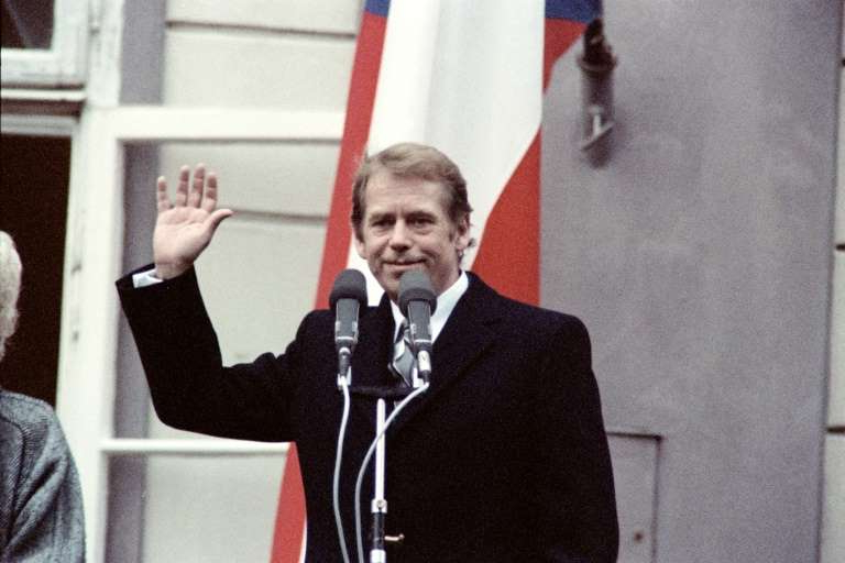 Vaclav Havel wearing a suit and tie: Playwright and dissident turned president, Vaclav Havel led what was then Czechoslovakia to democracy