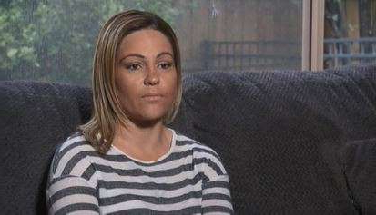 a person sitting on a couch: Tanya Rosenquist says the incident was a freak accident.