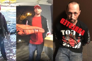 Alleged JoCo porch pirate arrested wearing 'I got issues' shirt
