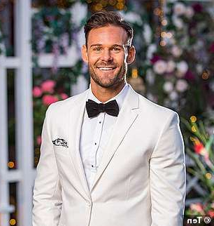 Carlin Sterritt wearing a suit and tie: Who will win? On Thursday night, Angie will choose either Timm Hanly or Carlin Sterritt (pictured) as her winner of The Bachelorette, during the romantic finale in Byron Bay