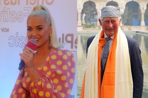 Katy Perry Joins Prince Charles At Charity Event In Mumbai